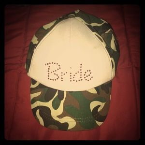 oriental trading Accessories - Bride camouflage adjustable hat